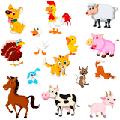 раскраска распечатать животные
