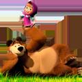Раскраски Мария равным образом Медведь
