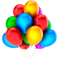 Раскраски Воздушные шары