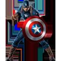 Раскраска Капитан Америка