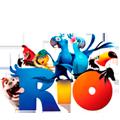 Раскраски Рио равным образом Рио 0