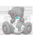 Раскраска Мишки Тедди