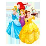 Раскраски Принцессы Диснея - распечатать в формате А4