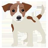 Раскраски собаки - распечатать в формате А4