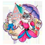 Раскраски Кошкин дом - распечатать в формате А4