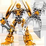 Раскраска Лего Бионикл - распечатать в формате А4