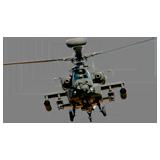 Раскраска Вертолет - распечатать в формате А4