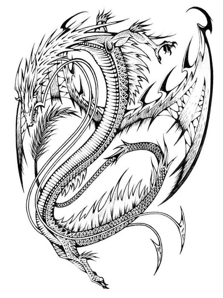 Adult dragon coloring pages nsfw scene