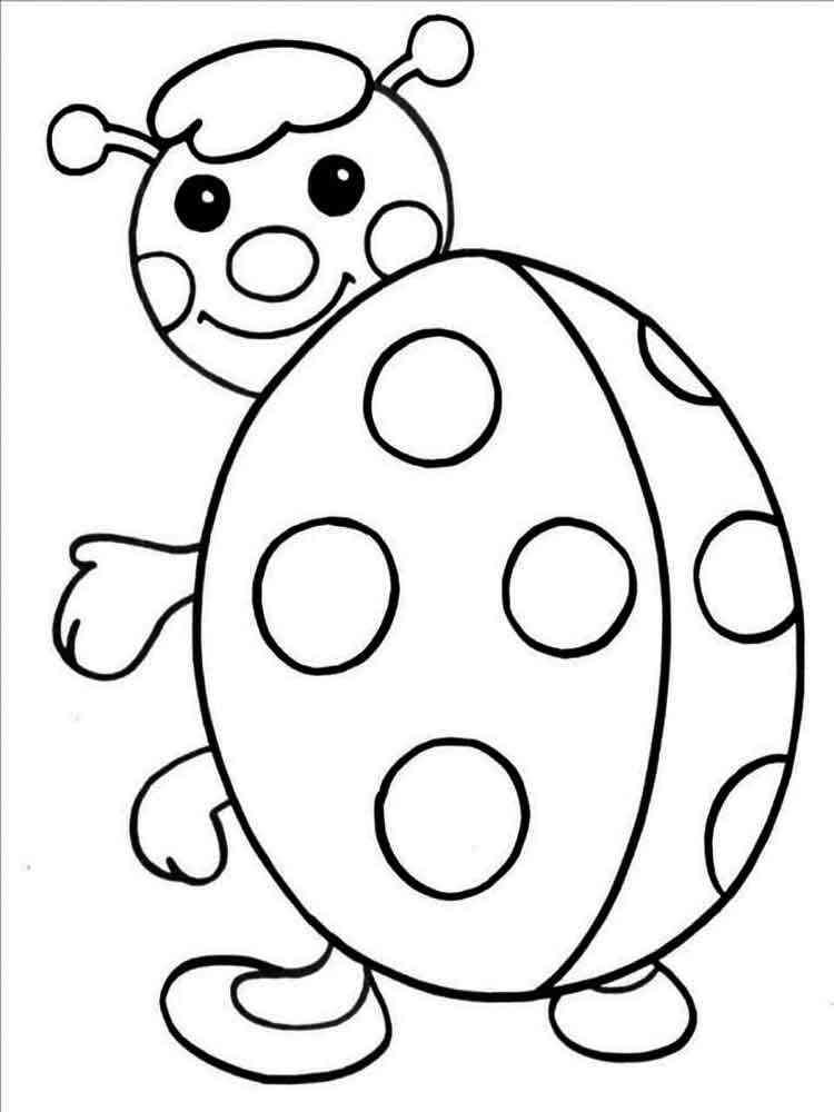 Раскраски 3-4 года детям