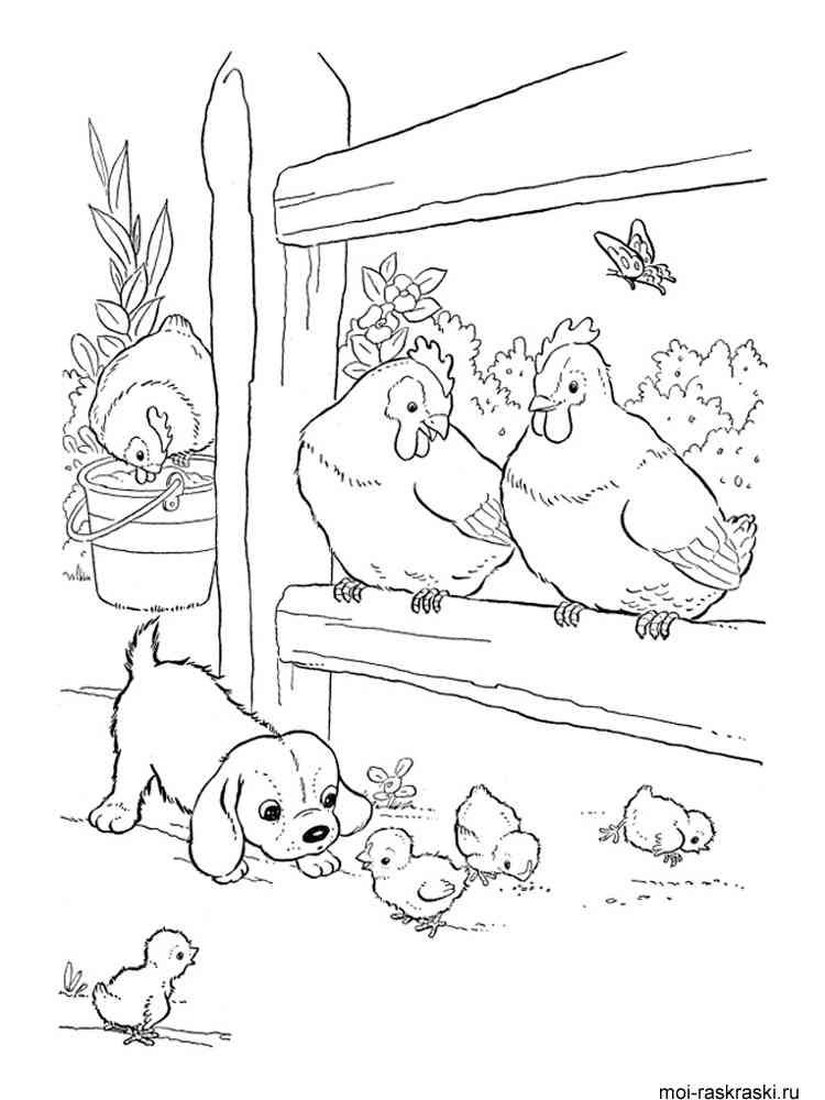 Раскраски с яйцами