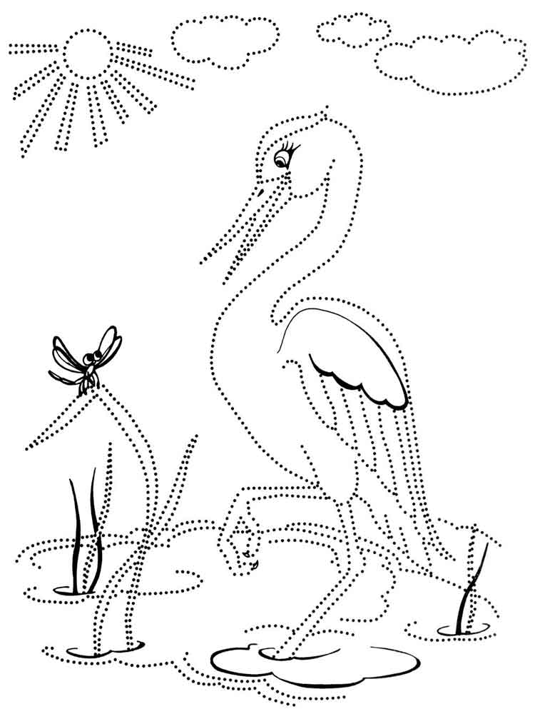 Egrets coloring pages free coloring pages