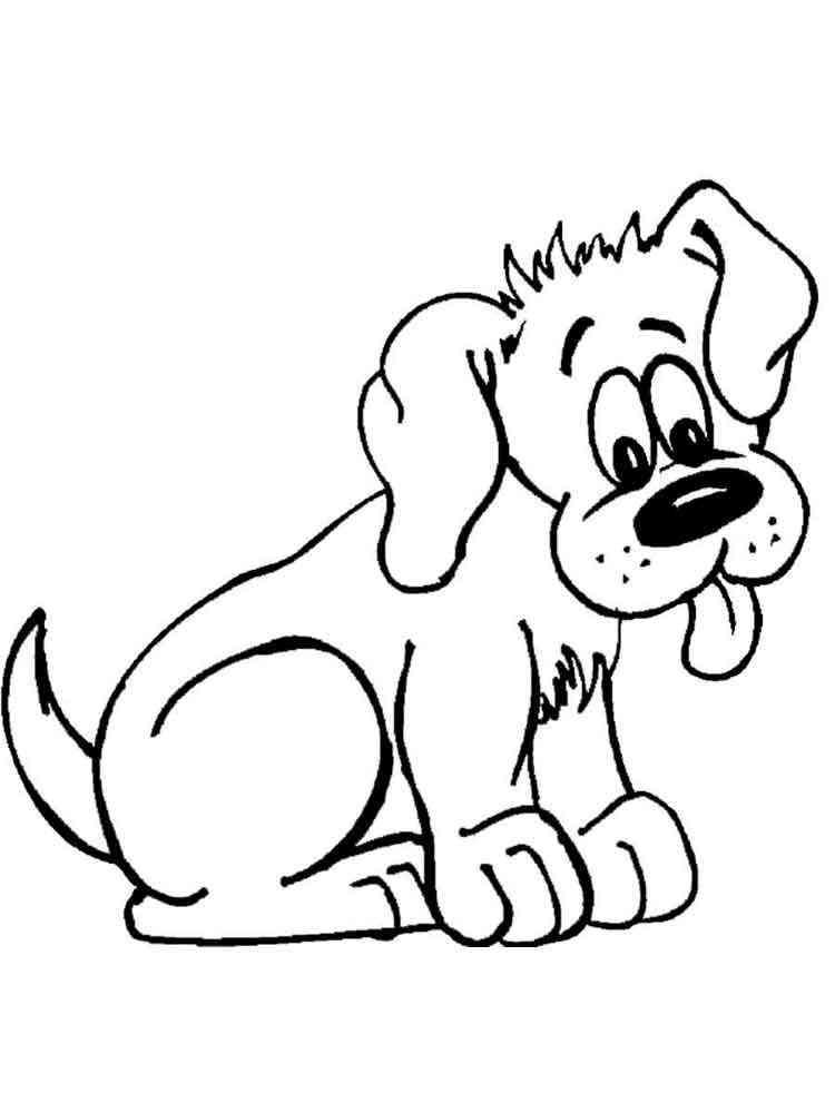 раскраски собаки скачать и распечатать раскраски собак