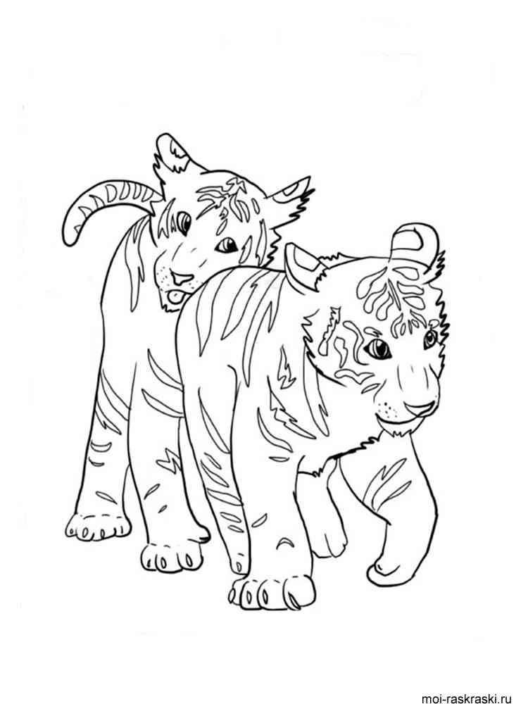 Игры раскраски тигров