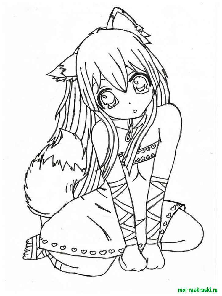 раскраски аниме скачать и распечатать раскраски аниме