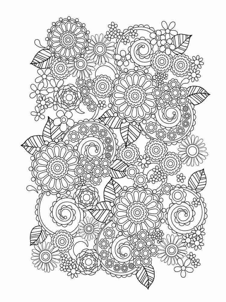 картинки цветков из антистресса оформляется обставляется