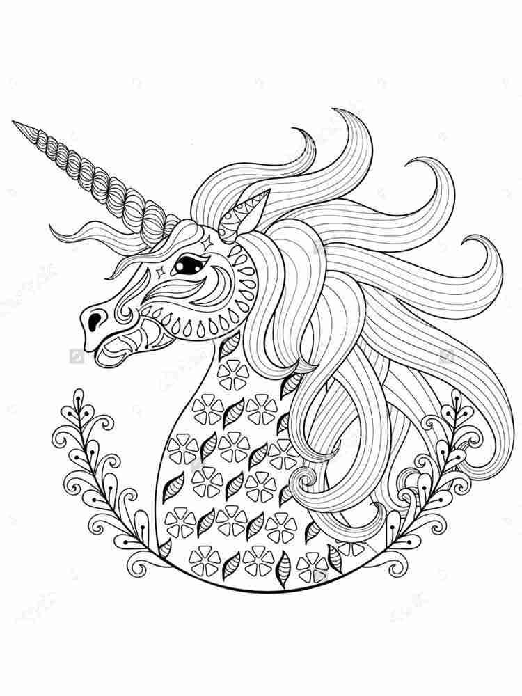 Раскраски Животные Антистресс - распечатать в формате А4