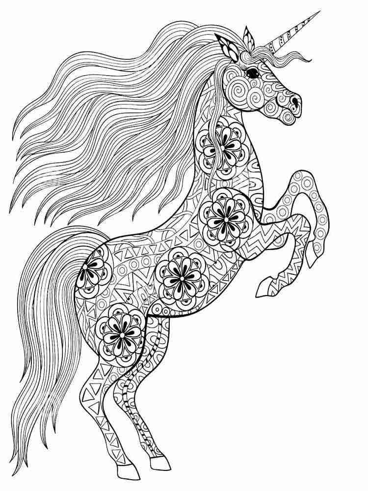 Paarden Kleurplaat Moeilijk Раскраски Антистресс для взрослых Скачать и распечатать