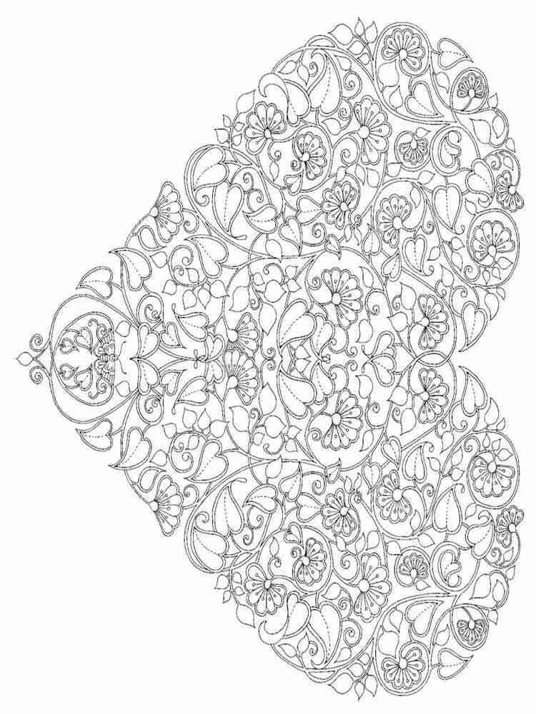 Раскраски Антистресс для взрослых - распечатать в формате А4