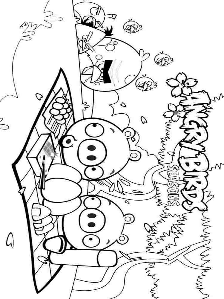 Игра раскраска энгри бёрдс