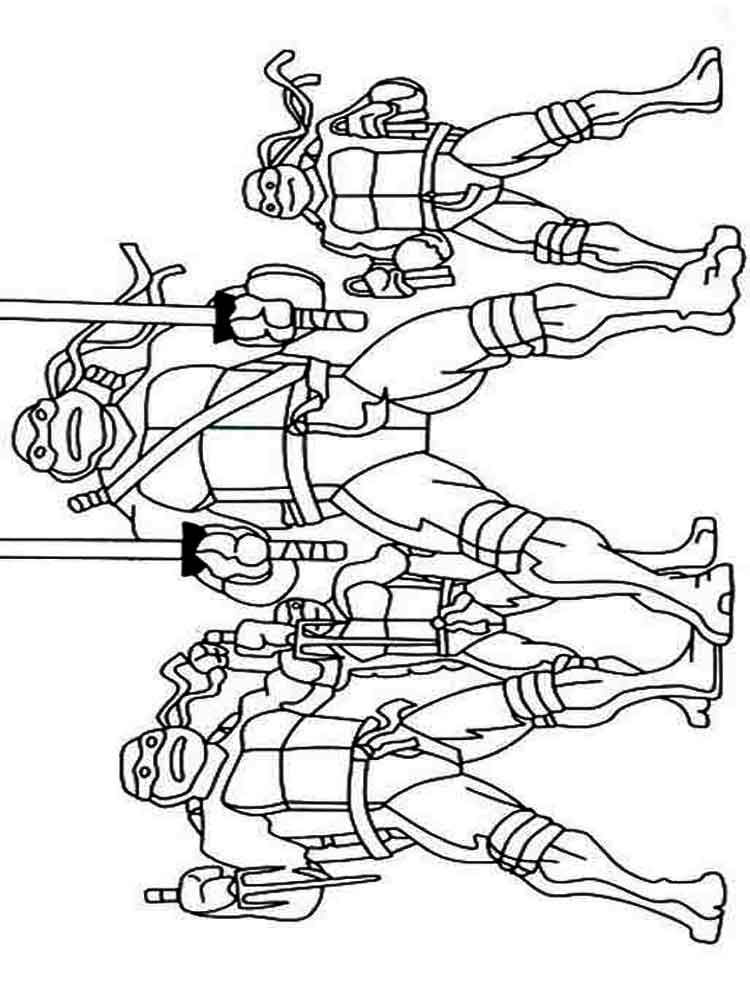 Раскраски из мультфильма Черепашки ниндзя. Сплинтер ...