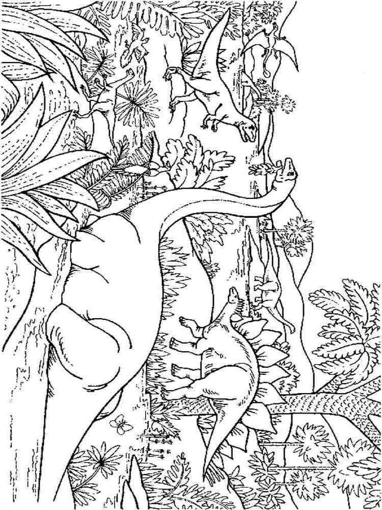 Раскраски Динозавры (Dinisaurs). Скачать и распечатать ...