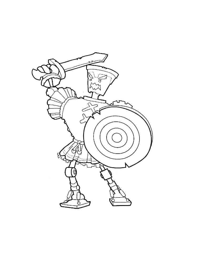 Раскраска Герои Энвелла - распечатать в формате А4