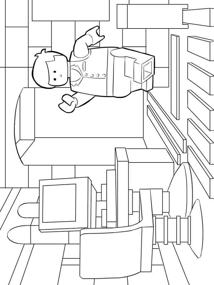 emmett coloring pages - photo#17