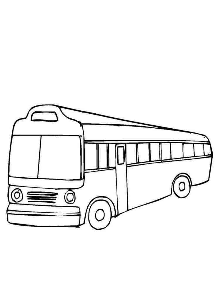 раскраска автобус скачать и распечатать раскраски автобусы