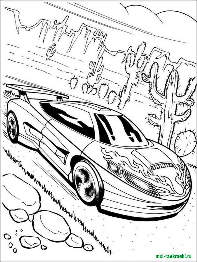раскраски гоночные машины скачать и распечатать раскраски