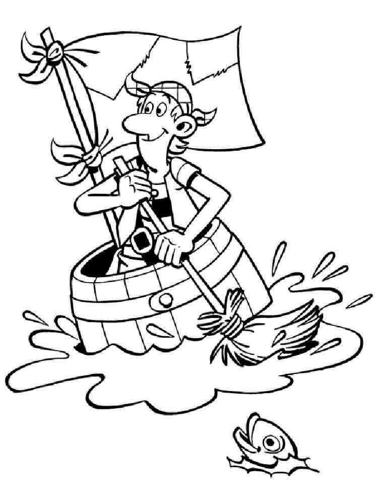 Пираты кошачьего моря раскраска