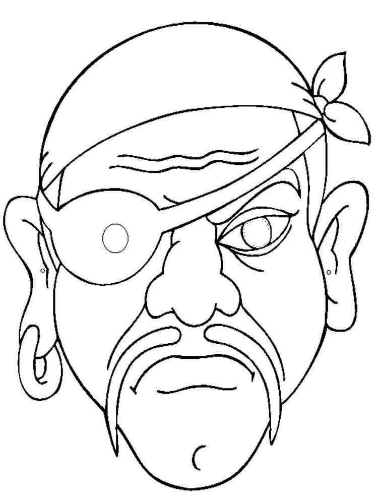 Раскраски пиратов i
