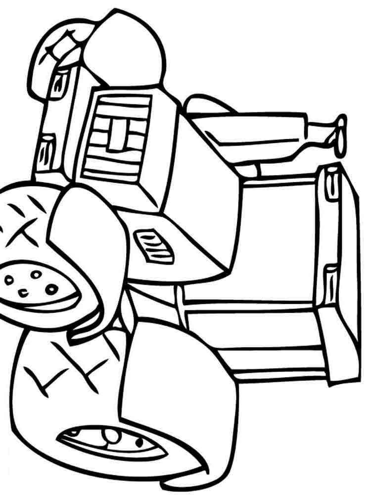 Раскраски для детей мальчиков машинки