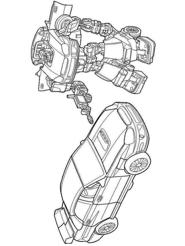 Раскраски для мальчиков роботы трансформеры распечатать - 9