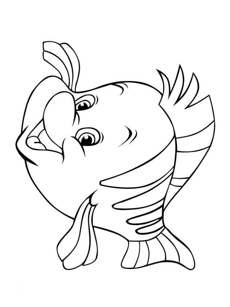 безумно картинки мультяшных рыбок распечатать числится