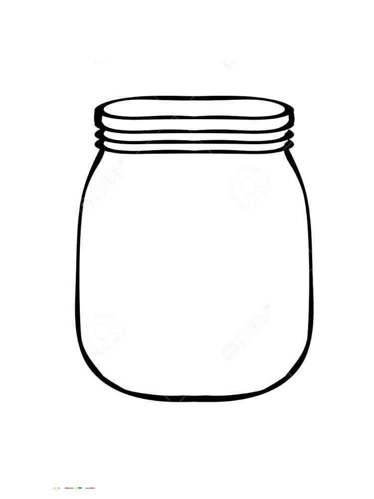 Картинка банки пустой для детей