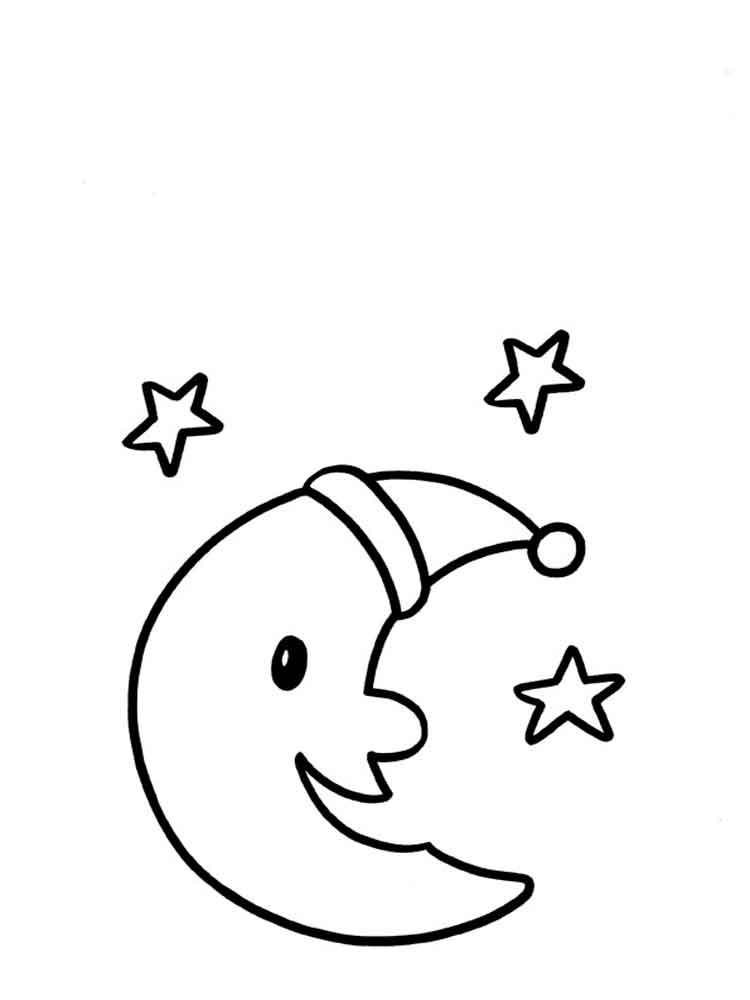 Раскраски для детей 3-4 лет - распечатать в формате А4