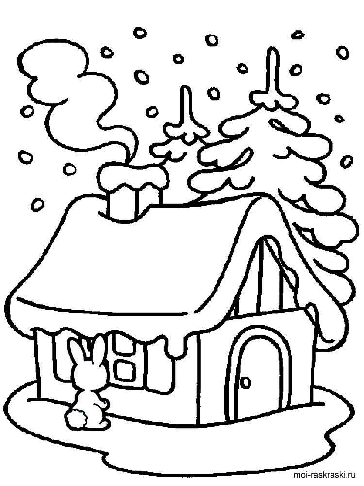 Скачать картинки дом в лесу