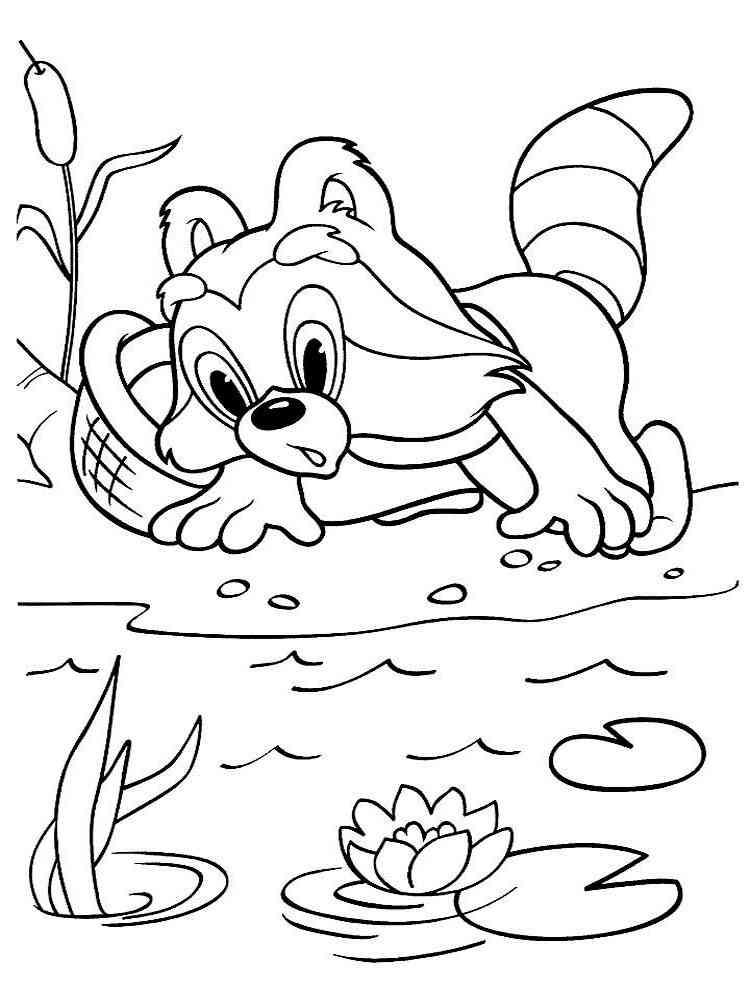 Картинки из мультфильма для разукрашивания