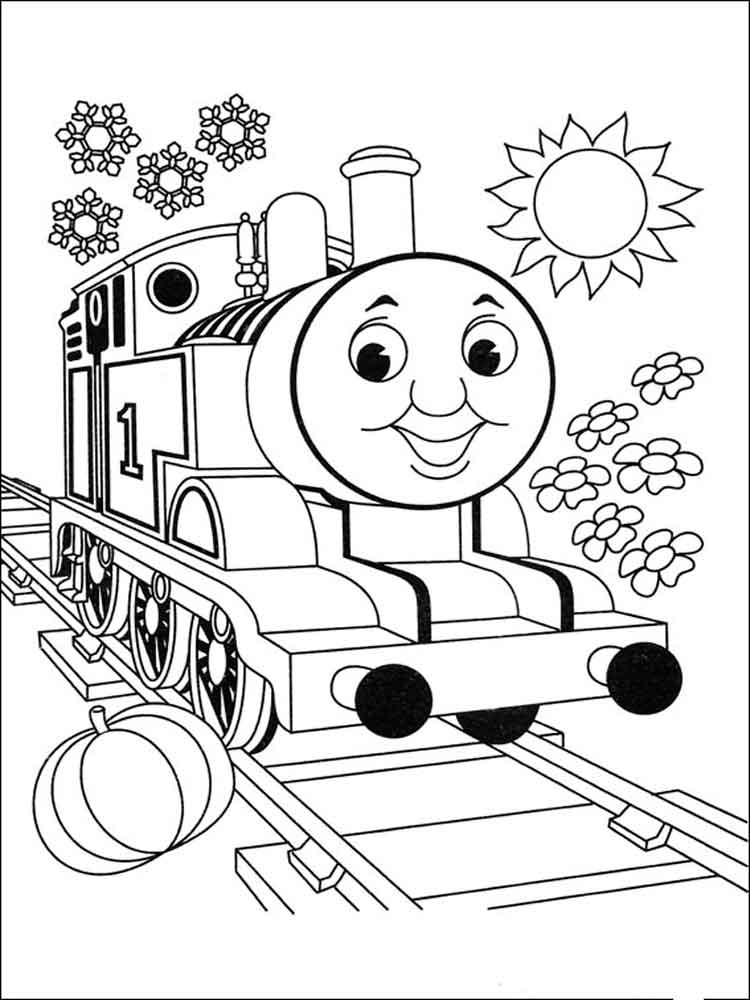 Раскраски томас и его друзья распечатать бесплатно
