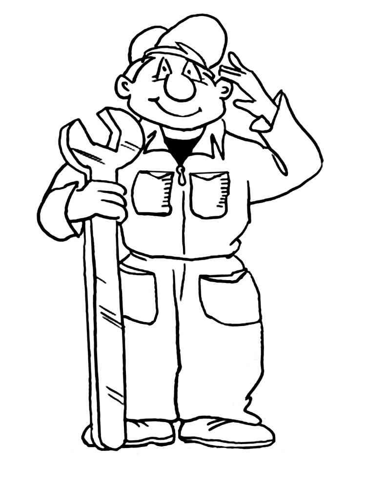 фотку рисунки профессии людей вырос вагончиков строителей