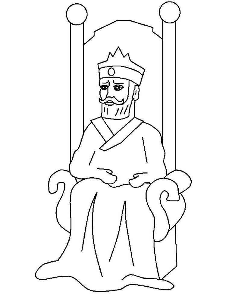 Картинка король нарисованный