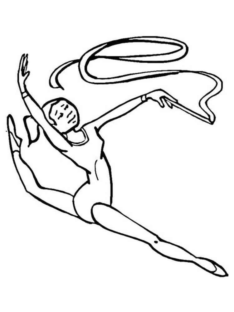 Картинка раскраска спортсменов