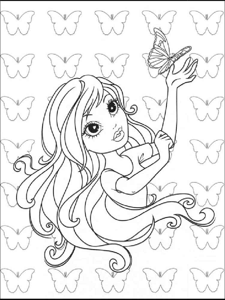 Бесплатные раскраски для девочек новые раскраски