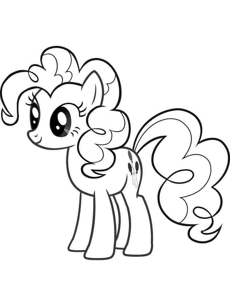 Раскраски My little pony (моя маленькая пони). Скачать и ...
