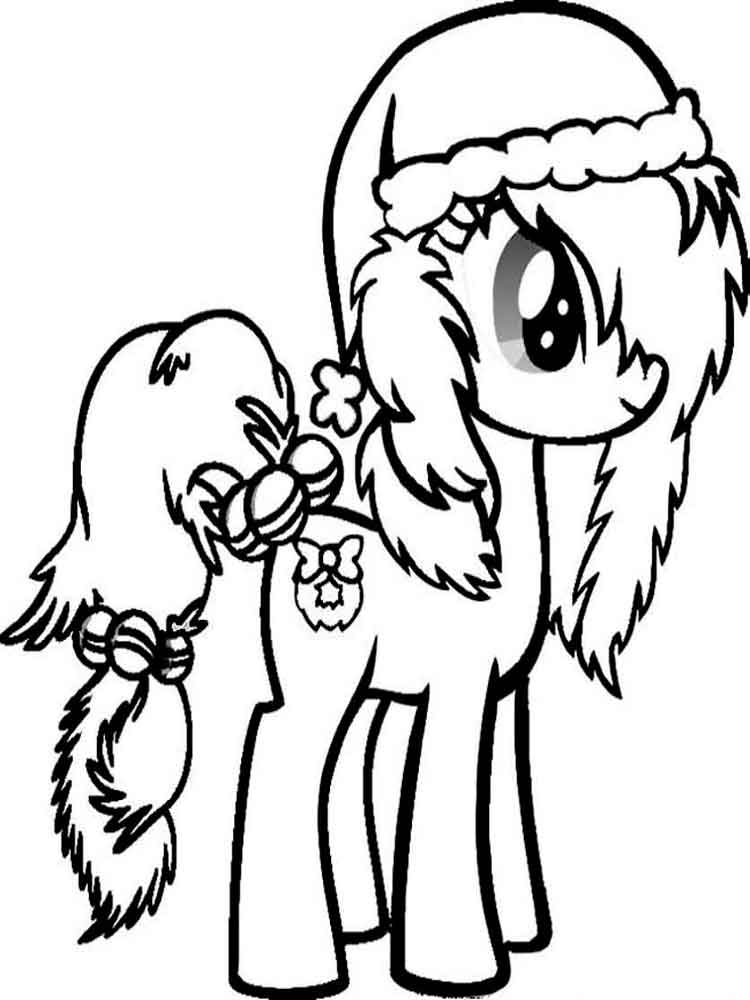 Раскраски My little pony (моя маленькая пони ...