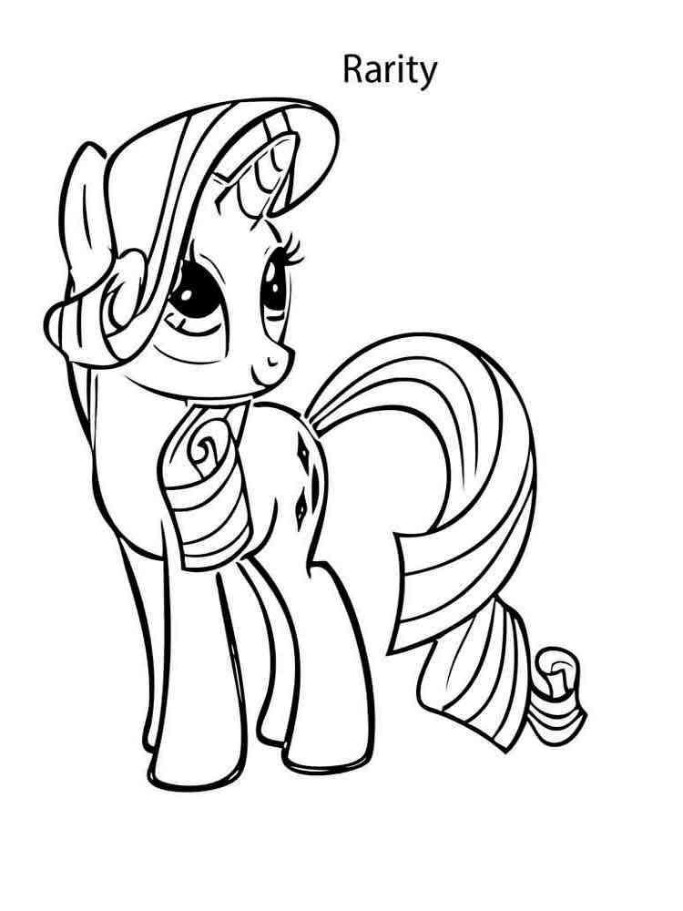 раскраски My Little Pony моя маленькая пони скачать и