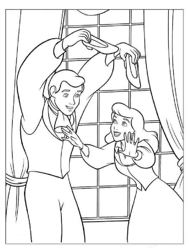 Раскраска на сказку дюймовочка