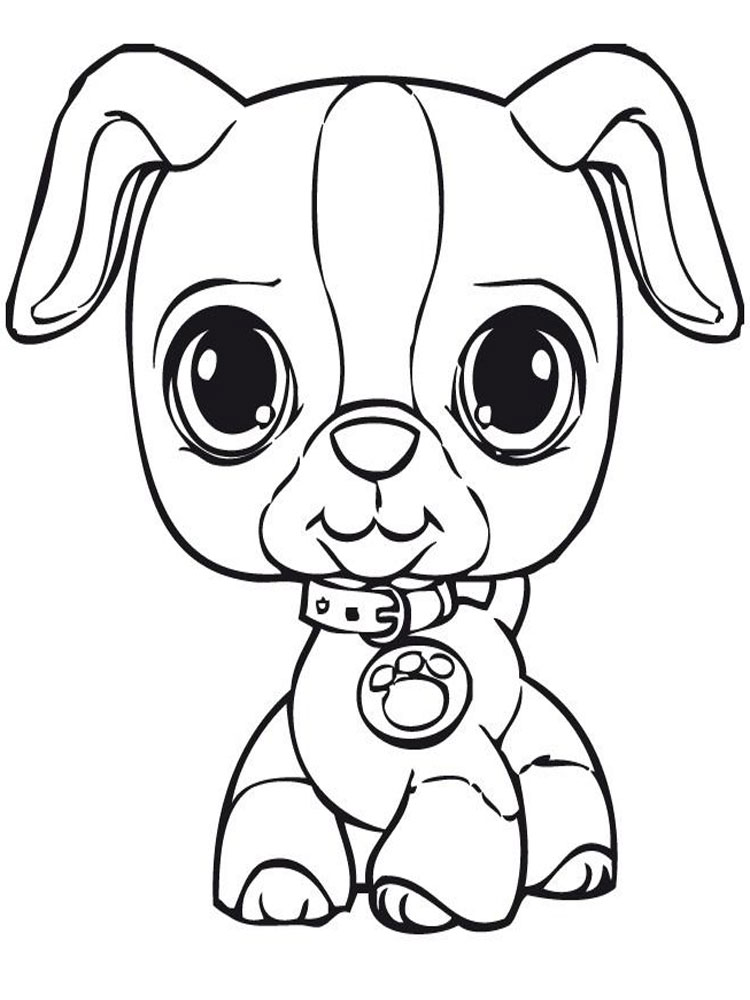 Littlest Pet Shop Unicorn Coloring Page