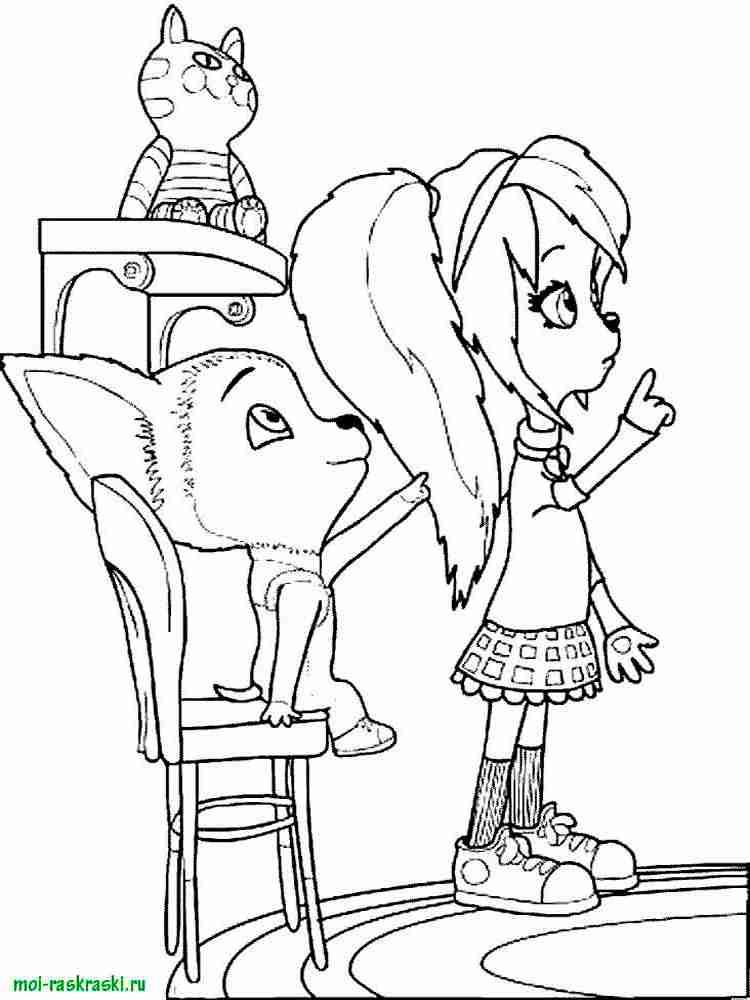 Раскраска из мультфильмов барбоскины 11