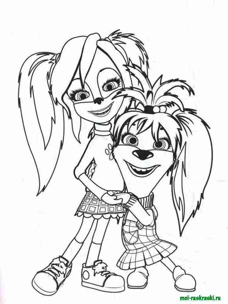 Раскраска для подростков девочек 13 лет